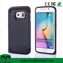 new products pc tpu armor shockproof case for samsung galaxy s6 edge case