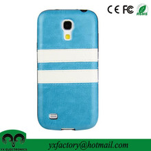 factory price back cover leather case for galaxy s4 mini