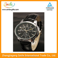 New Product Lady Watch With Leather