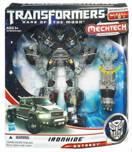Movie Hasbro Ironhide Mechtech Voyager Dark of The Moon Car toy Action Figure