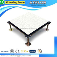 cost saving calcium sulphate access floor in telecommunications company