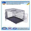 """Suitcase 48"""" Wire Folding Pet Crate Dog Cage in black"""