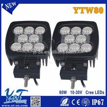 Adjustable 24v led work light 24v 7inch for auto