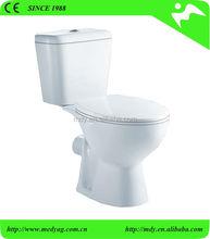 STOCK! sanitary ware toilet ceramic wc two piece toilet china supplier bathroom design