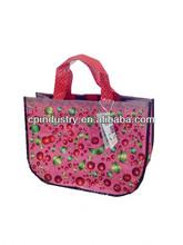 HOT SALE Eco-Woven pinky Shopping Bag