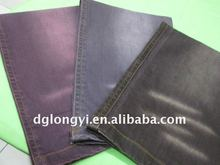 2012 hot sale cotton color stretch denim fabric