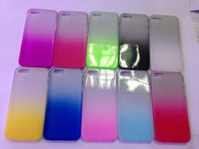 Luxury gradient color tpu cell phone cover case for iphone 5 color change case