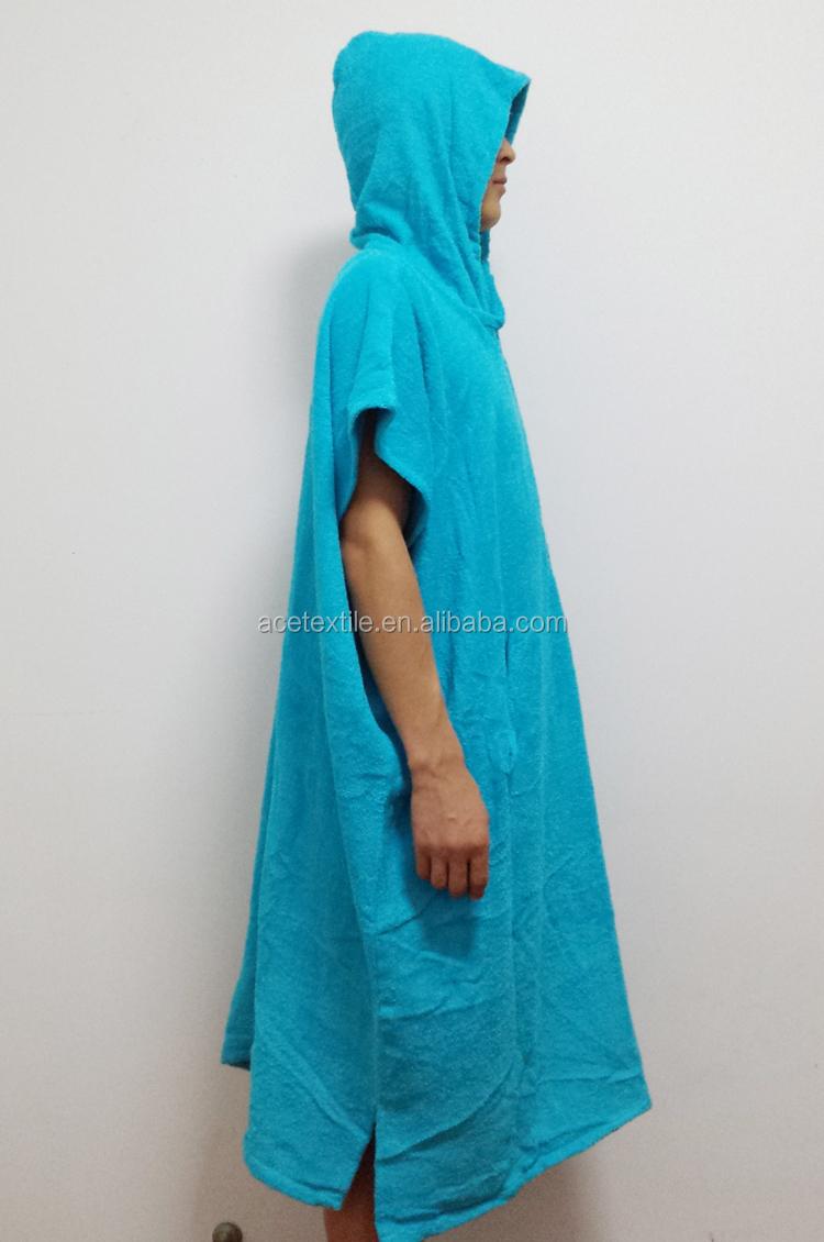 ponge de coton grande taille adulte serviette capuchon poncho capuche surf serviette pour. Black Bedroom Furniture Sets. Home Design Ideas