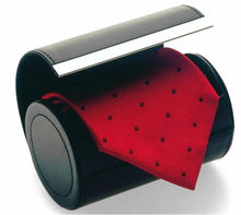 2015 newly customized tie box with logo printed