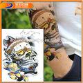 personajes de dibujos animados de impresión offset temporal etiqueta engomada del tatuaje
