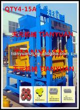top quality QTY4-15A price concrete block machine