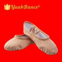 Wholesale Colorful Soft Canvas Ballet Shoes