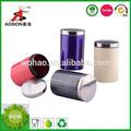 nuevo diseño de aceroinoxidable frascos herméticos de almacenamiento