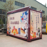 Chines made mobile Kitchen,mobile food kitchen,food cart