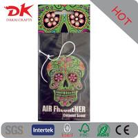 Good smell cartoon shaped hanging paper car air freshener