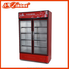 2 Door Commercial Upright refrigerator for meat display fridge LC-480B