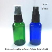 5~100ml water mist spray glass bottle glass compressed air spray bottle