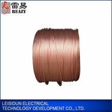 China enamelled copper wire prices per meter bare ground wire