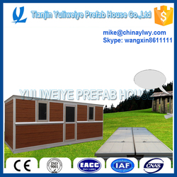 Useful prefab house can be folded for military container house
