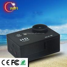 Hot selling outdoor 1080P full HD action shot camera,bike camera,camera wireless
