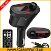 Wireless Car Kit MP3 Player FM Transmitter Modulator USB MMC LCD Remote Green