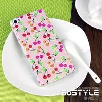 custom cherry fruit pattern phone cover case for xiaomi note back tpu case