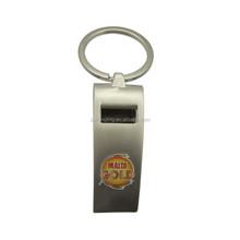 Beer bottle opener keychain ,metal opener with custom logo HLE015