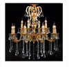 Larger crystal chandelier High quality copper pendant light