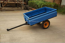 Hot sale Europe style agriculture trailer with CE