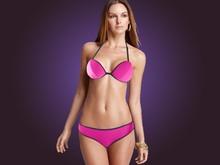 2015 Neoprene Bikini & Sexy Triangle Thailand Minimal Coverage Swimsuits Skimpy Hot Polyester New Arrival 2015 Neoprene Bikini