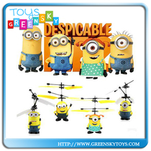 wholesale infrared controlled rc flying minion toys