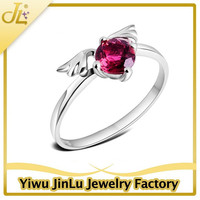 Fashion angel wing silver 925 new model ring