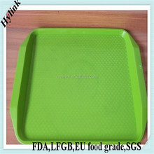 New large plastic barware serving tray plastic rectangular serving tray airline serving tray