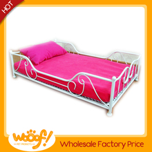 Hot selling pet dog products metal frame dog bed