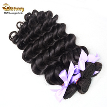best quality 7a grade model hair extension wholesale 100% virgin human eurasian loose wave hair