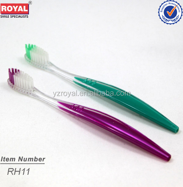 hotel mini toothbrush/ Chinese famous toothbrush brands/Yangzhou famous toothbrush brands