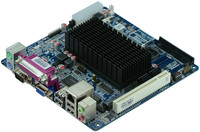 with intel N455 1.66G cpu Atom Fanless POS mainboard