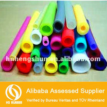 Colored high performance silicone rubber tube