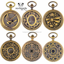Chain Cheap Japan Movt Quartz Style Antique Western Pocket Watch