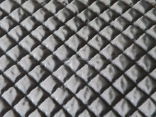 winter diamond 3 layers thermal padding quilting fabric for down coat/jacket