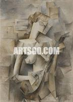 Pablo-Picasso Abstract Painting on Canvas for Hotel Decorative Wall Art