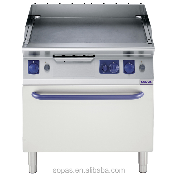 Gas Fryer With Griddle Gas ~ Sopas series freestanding stainless steel commercial