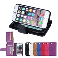 BRG New arrival Wallet case for iphone 6 4.7 inch, for iphone 6 4.7inch case