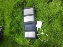 Protable solar panel charger 7w for mobile phone/MP3 player/MP4 player/laptop,etc