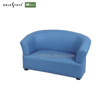 2015 simple colorful children double sofa kid mini sofa