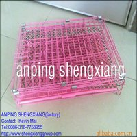 Eco-Friendly (factory)ISO14001 Foldaway Pet dog Cage
