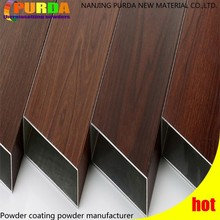 Heat Transfer Wood Effect Powder Coating Paint