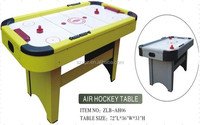Beautiful China Shenzhen manufacturer 6ft electric classic air hockey table wholesale