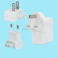 2015 UK Indicator light usb travel charger universal travel adapter with usb charger