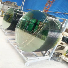 regular and irregular shape flat curved leading manufacturer tempered glass with hole